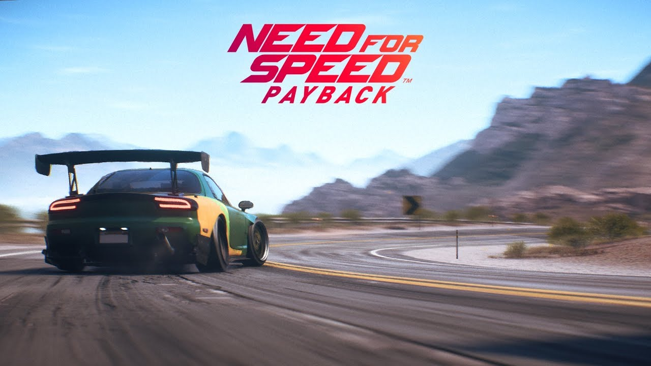 Need for Speed Payback PC CD Key Racing Game Free Download