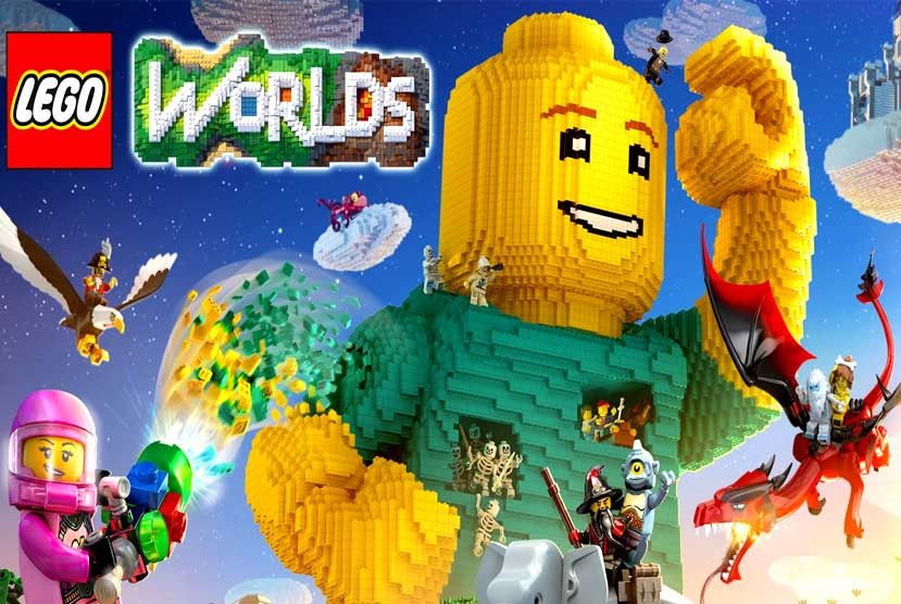 Lego Worlds Crack + Latest Version PC Game Free Download