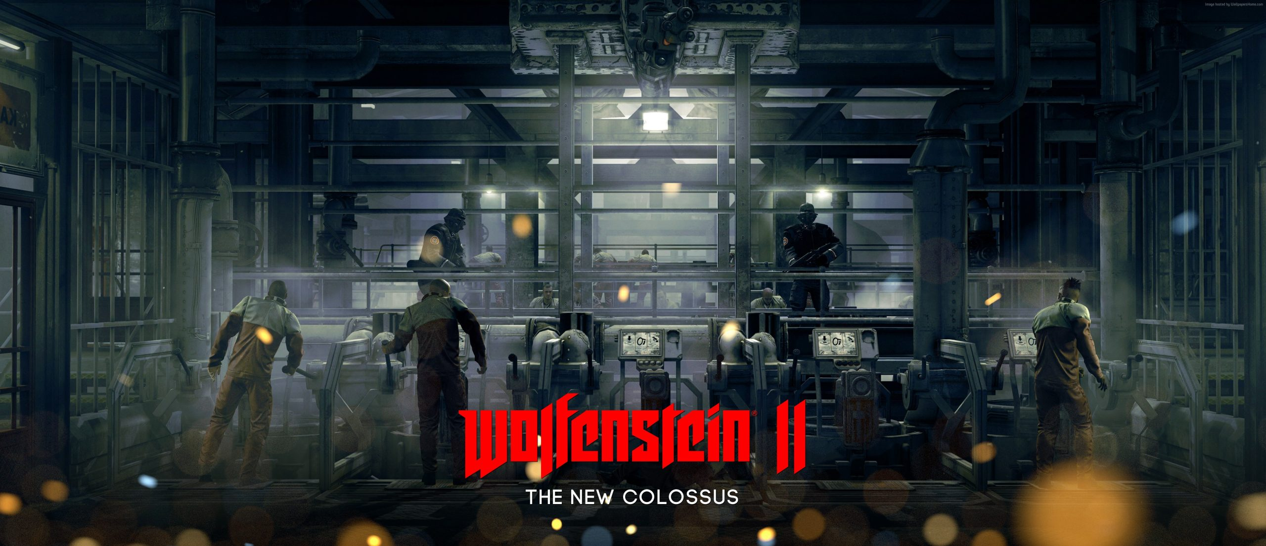 Wolfenstein II 2: The New Colossus Activation Key PC Game Free Download